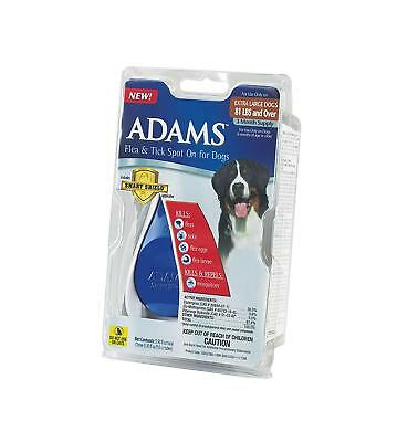 Adams Flea and Tick Spot On for Dogs 81 lbs & Over 3 month supply pets X Large