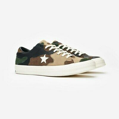 CONVERSE ONE STAR x SNS Sneakersnstuff Camo ~ SZ Men 9.5