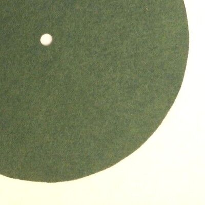 """Replacement Felt & Bumpers for Victor Victrola & Other Brands, 11"""", Med. Green"""
