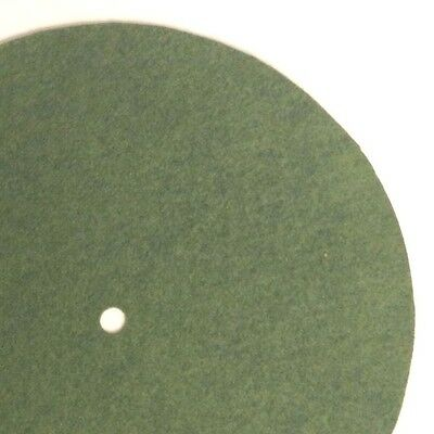 """Replacement Felt & Bumpers for Victor Victrola & Other Brands, 9.5"""", Med. Green"""