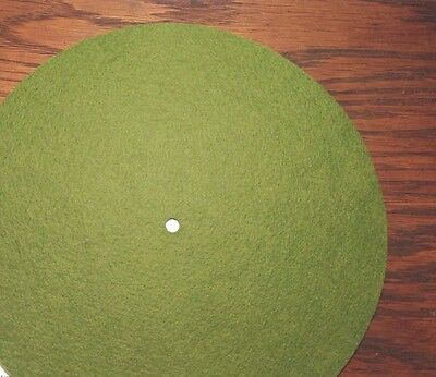 """Replacement Felt & Bumpers for Victor Victrola & Other Brands, 12"""", Lt Green"""