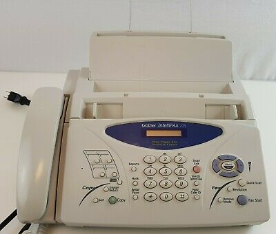 Brother Intellifax 775 Fax Machine Compact Small Office Phone Copier Plain Paper