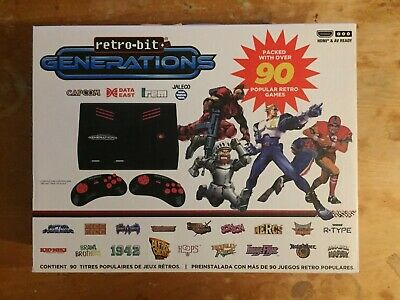 Retro-bit Generations Console (takes SD card To Load Snes Nes And Sega Roms)