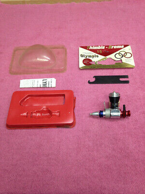 Cox Olympic 15 Gas Model Airplane Engine - Control Line or Free Flight New .15