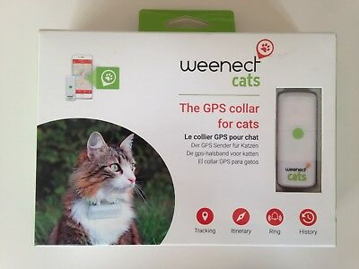 Gps Pour Chat Collier Weenect Cats