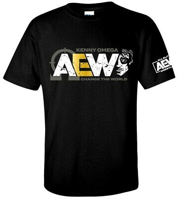 AEW Kenny Omega T-shirt - XS-3XL- Young Bucks ALL ELITE WRESTLING Chris Jericho