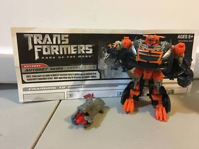 SKIDS Autobot DotM Complete Transformers loose Figure instructions weapon