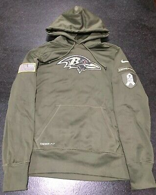brand new df339 8aa78 salute to service baltimore ravens hoodie
