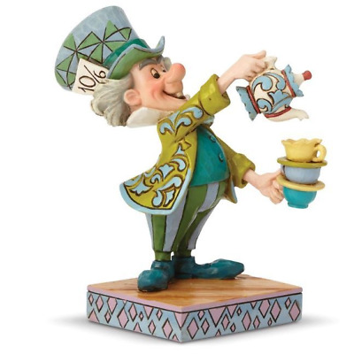 New Alice in Wonderland Disney Traditions Mad Hatter Spot of Tea Free Shipping!