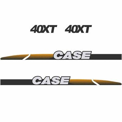 CASE 40XT Decals Stickers Skid loader Repro kit