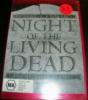 Night Of The Living Dead (George A Romero's) (USA NTSC All Region) DVD – New