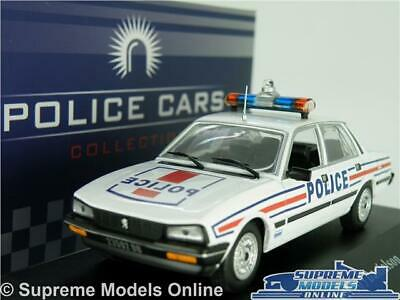 PEUGEOT 505 DANIELSON Police Model Car 1:43 Scale Ixo Atlas 7598080 Saloon  K8