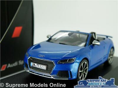 Audi Tt Rs Roadster Model Car 1:43 Scale Blue Sports Schuco Dealer Special K8