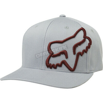 e0ca7606b80 Fox Gray Red Clouded FlexFit Hat ( Mens Large XL ) 21974-037