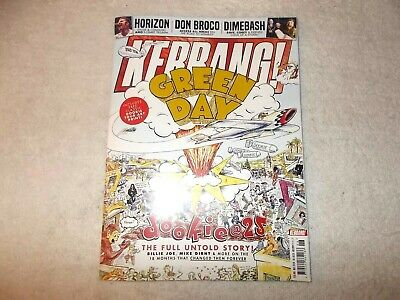 Kerrang! Magazine Issue 1759 9th February 2019 Green Day Dookie 25th Art Print