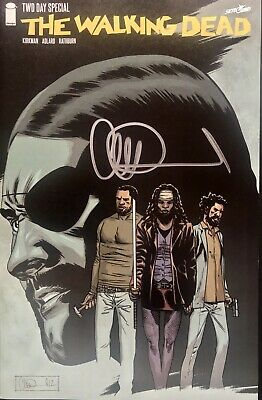 Image Comics The Walking Dead Twd Day Special Signed By Charlie Adlard
