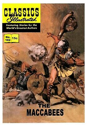 CLASSICS ILLUSTRATED EUROPEAN TRANSLATED TO ENGLISH - No.182 - THE MACCABEES