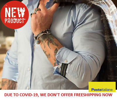 New Handmade CuffUp Shirt Pair to make your style for men's (2 Pcs / Pack)