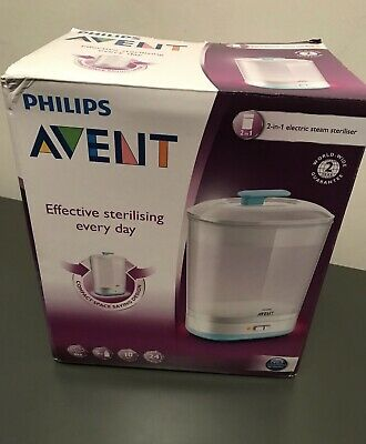 Philips Avent 2in1 Electric Steam Steriliser. New In Box .