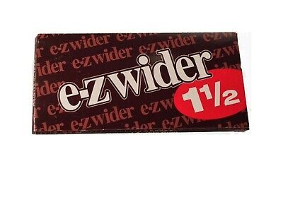 E Z Wider 1.5 Rolling Papers 1 1/2 *LOWEST PRICE* *USA SELLER*