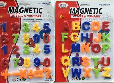 Numbers STRONG MAGNETS MAGNETIC BABY LETTERS AND LARGE Fridge Magnets Alphabet