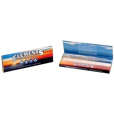 2x Elements Rolling Papers Ultra Thin Rice King Size Slim AUTHORIZED SELLER