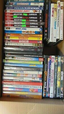Wholesale Lot of 40 Used Assorted Bulk DVDs Original Movies Free S&H LOT #4