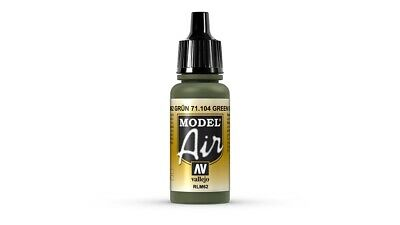 (VAL104) - AV Vallejo Model Air 17ml - Green (RLM 62)