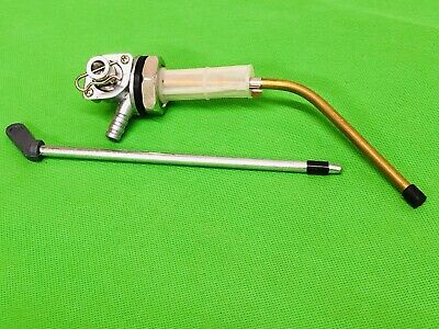 Taffspeed Touring Fast Flow Fuel Tap Fits All Vespa Models C/W Fuel Tap Lever