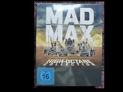 MAD MAX High Octane Collection BluRay / Blu Ray 7 Disk OVP NEU in Folie