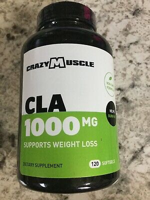 Cla 1000mg Conjugated Linoleic Acid Safflower Weight Loss Supplement