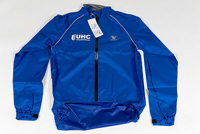 UNITED HEALTHCARE PRO Cycling Team Vermarc Cycling Rain Jacket Size ... 86e0531c7