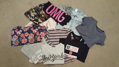 girls clothes bundle age 11-12, 11 items various items, good condition