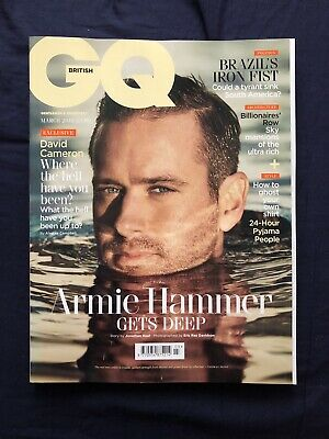 Armie Hammer British GQ Magazine March 2019