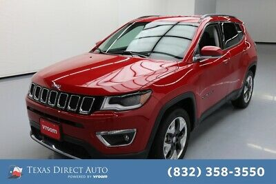 2018 Jeep Compass Limited Texas Direct Auto 2018 Limited Used 2.4L I4 16V Automatic FWD SUV