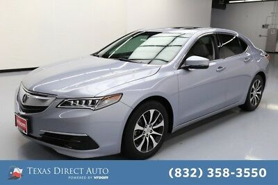 2015 Acura TLX  Texas Direct Auto 2015 Used 2.4L I4 16V Automatic FWD Sedan Moonroof Premium