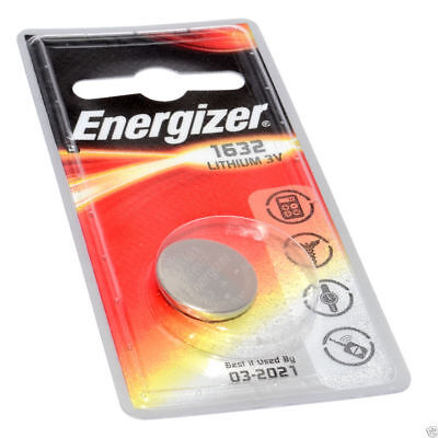 Energizer Lithium Cellule Pile Bouton CR1632 3V 1 Pack