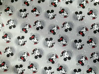 New Hand Made Minnie & Mickey Circles Fitted Crib/Toddler Sheet