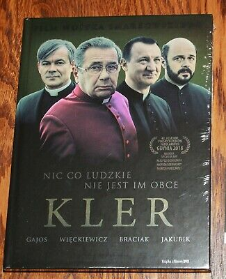KLER (DVD+BOOK) Smarzowski Wojciech - Region ALL (Free Region) Sealed DVD