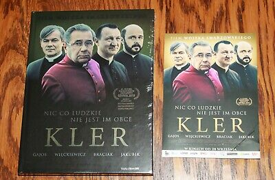 KLER (DVD+BOOK) Plus Ulotka Kinowa- Region ALL (Free Region) Sealed DVD