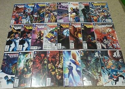 Justice League United #0-16 | Complete with Annual + Variants | NM