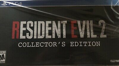 Resident Evil 2 GameStop Collectors Edition PS4 Bundle Playstation New In Hand