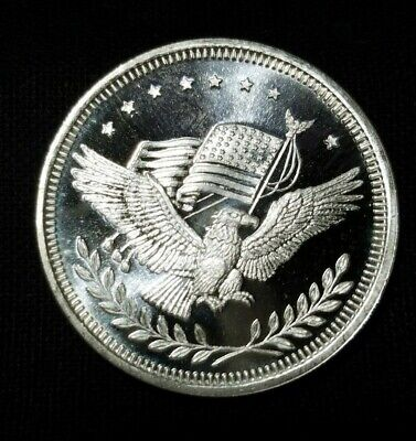 """One Troy Ounce .999 Fine Silver Round  """" We Combine Shipping """""""