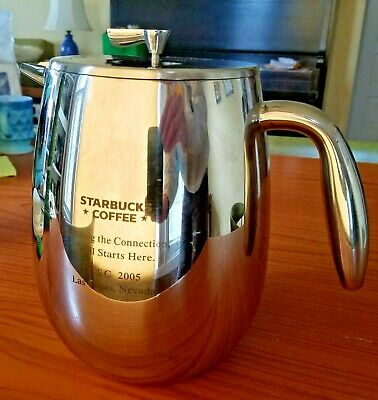 Bodum by Jorgensen 11 Coffee Maker Thermal French Press Columbia Starbucks Conf