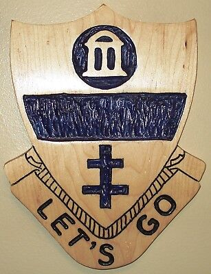 325th Airborne Infantry Regiment, carving,AIR,82nd Airborne Division, LET'S GO