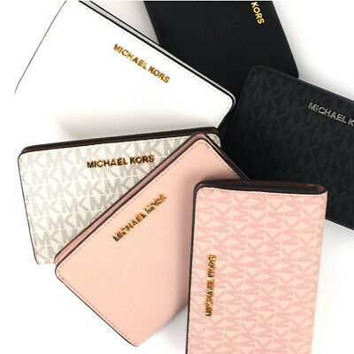 68549e00179e NEW MICHAEL KORS Bifold Wallet Jet Set Travel Slim - $43.99 | PicClick