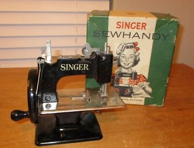 Vintage - 1950's - SINGER SEWHANDY  Model 20  Sewing Machine with Box Nice shape