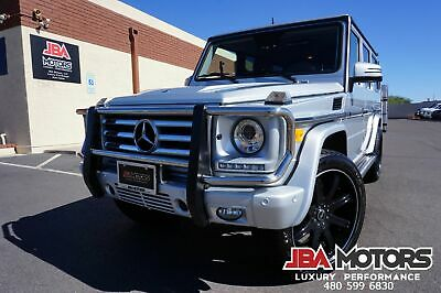 2014 Mercedes-Benz G550 G550 G Wagon G Class 550 SUV ONLY 12K LOW MILES!! 2014 Silver G550 G Wagon G Class 550 SUV G550 like G63 2012 2013 2015 2016 2017