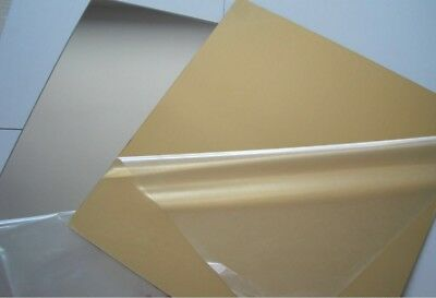 Fabulous acrylic sheet Silver Or Gold Mirror $85@ 2400x1200x3mm Sheets