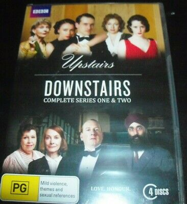Upstairs Downstairs Complete Series One & Two (1& 2) (Aust Reg 4) BBC DVD - NEW